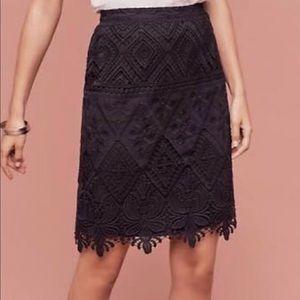 Black Moulinette Soeurs Pencil Skirt
